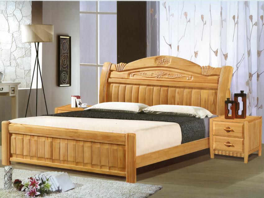 精品实木床,豪华床,武汉家具批发市场,实木床批发